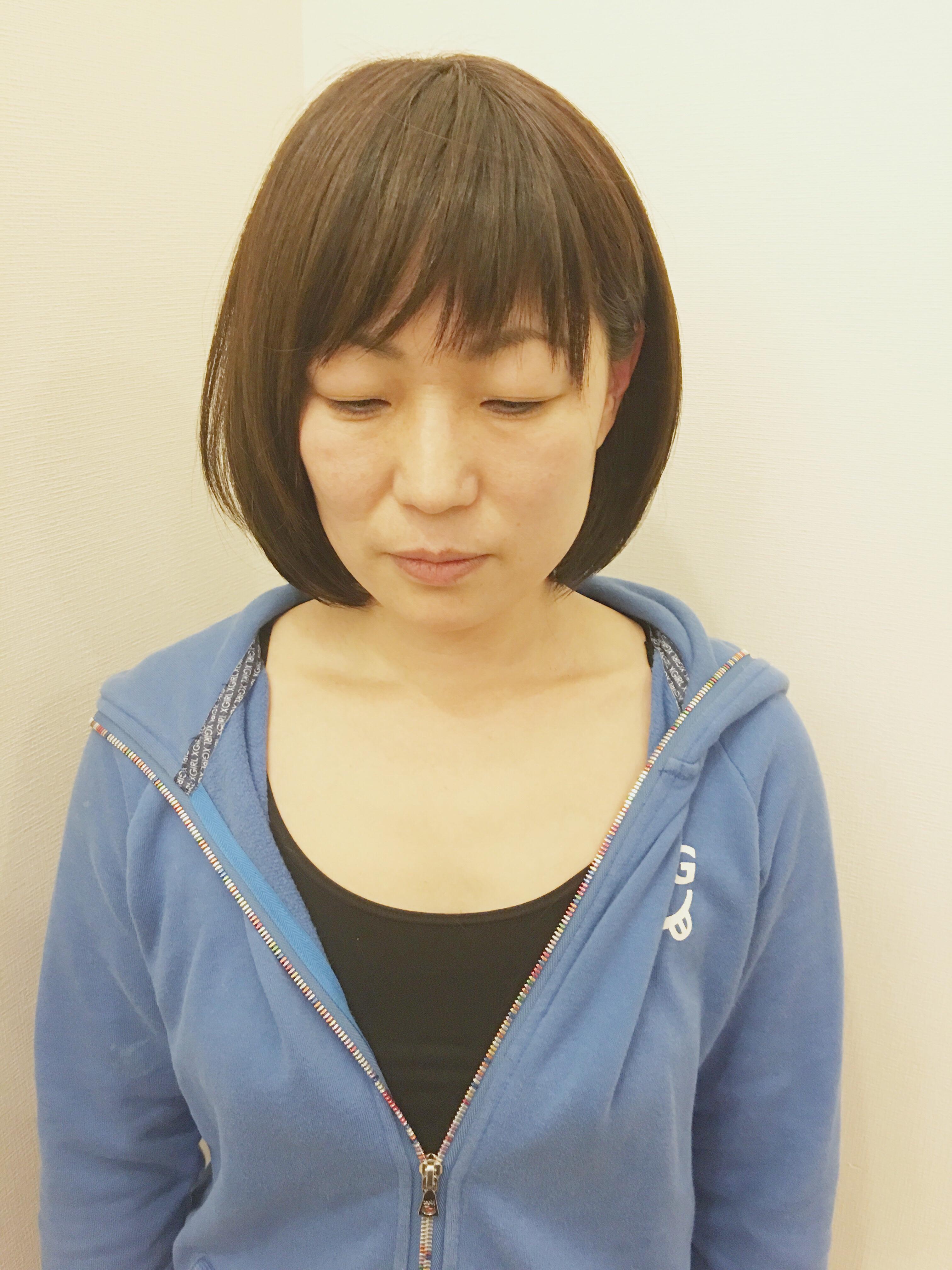 若返り 髪型 代 40